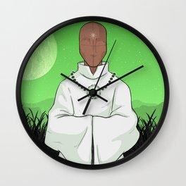Heart Chakra. Wall Clock