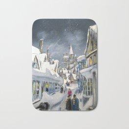 Snowy Hogsmeade Bath Mat