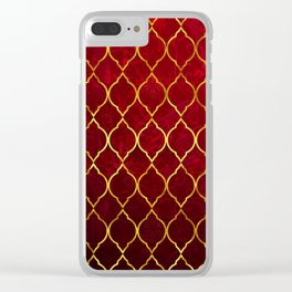 Moroccan Tile islamic pattern #society6 #decor #buyart #artprint Clear iPhone Case