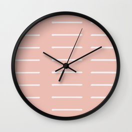 Organic / Blush Wall Clock