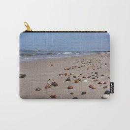 Shiney Stoney Beach - Nairn Scotland - Stones Carry-All Pouch