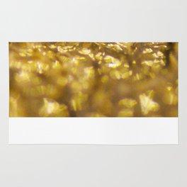 Gold Blobs Rug
