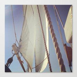 Sailboat in Newport, Rhode Island Canvas Print
