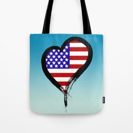Heart Nation 01 Tote Bag
