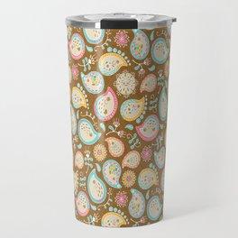 Hedgehog Paisley_Colors and Cocoa Travel Mug