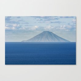 Stromboli island Canvas Print