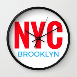 NYC Brooklyn Wall Clock