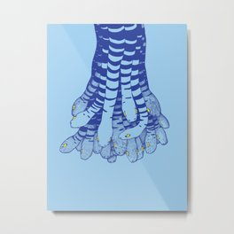 Snakes From Above Metal Print