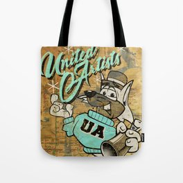 UA Cat Poster Tote Bag