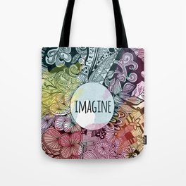 Imagine In Color Tote Bag