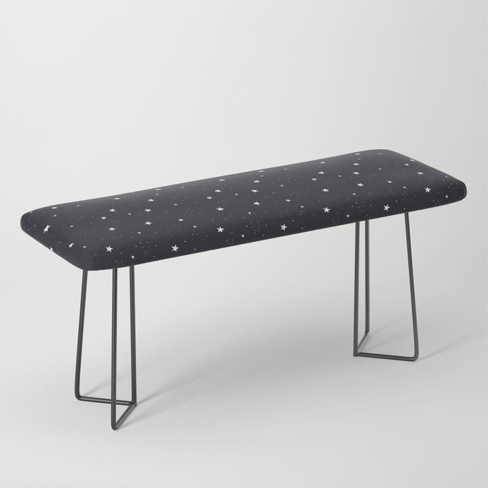stars pattern Bench