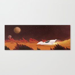 Mars, Off Road Canvas Print