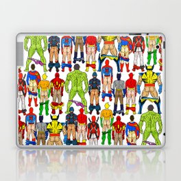 Superhero Butts LV Laptop & iPad Skin