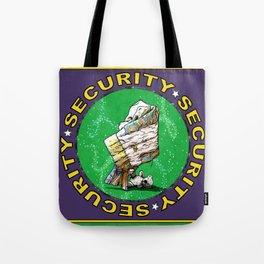 Blanket & Bear Security Tote Bag
