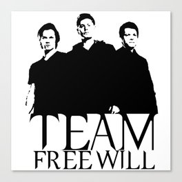 Team Free Will Canvas Print