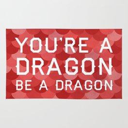 Be A Dragon Rug