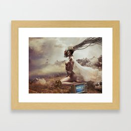 People First Framed Art Print