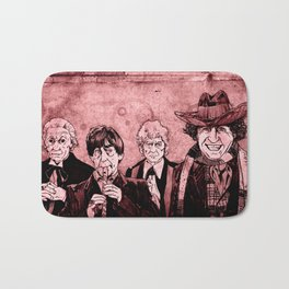 Doctor Who - One, Two, Three and Four Bath Mat