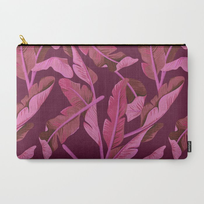Tropical '17 - Ajaja [Banana Leaves] Carry-All Pouch