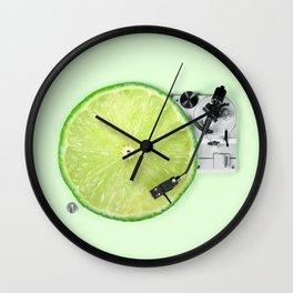 LIME DJ Wall Clock