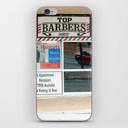Barber Shop iPhone Skin