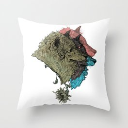 Cerberus Throw Pillow