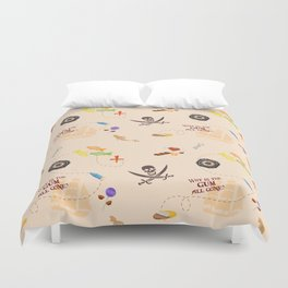 Pirates of the Candibbean  Duvet Cover