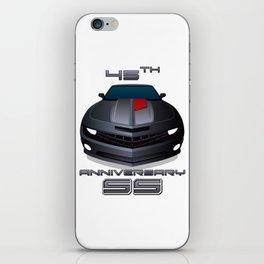 2012 Camaro SS 45th Anniversary edition iPhone Skin
