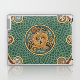 Celtic Knotwork Shield Laptop & iPad Skin