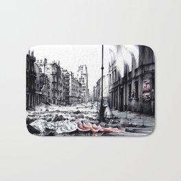 THE DEATH OF WARSAW Bath Mat
