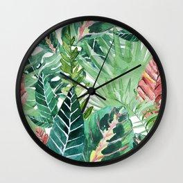 Havana jungle Wall Clock