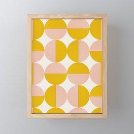 Abstraction_Circles_Art Framed Mini Art Print