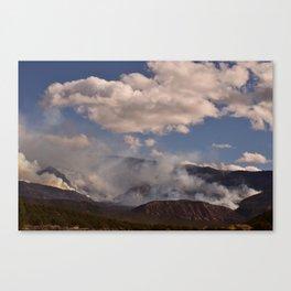 Cedar City Forest Fire - I Canvas Print