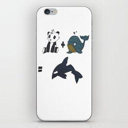 1+1 iPhone Skin