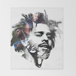 J. Cole Throw Blanket