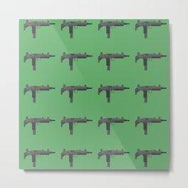 Uzi submachine gun Metal Print