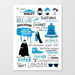 East London Canvas Print