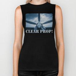 Clear Prop! Biker Tank