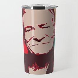 Rest in Boobs - Hugh Hefner Travel Mug