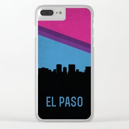 El Paso Skyline Clear iPhone Case