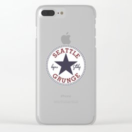seattle Clear iPhone Case