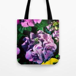 Hydrangeas at Botanical Garden Tote Bag
