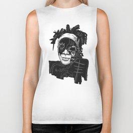 Jean-Michel Basquiat Biker Tank