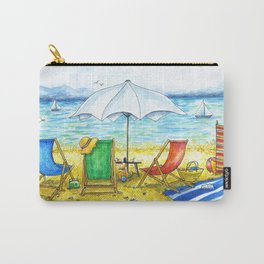 Deckchairs Carry-All Pouch