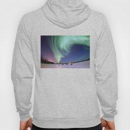 Northern Lights of Alaska Photograph Hoody
