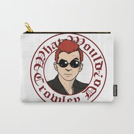 What Would Crowley Do? Carry-All Pouch