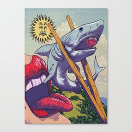 Sushi Suzi Canvas Print