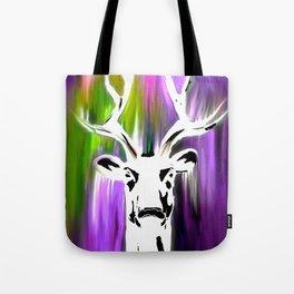 White Deer OIL PAINTING Tote Bag