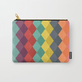 Rombs retro color Carry-All Pouch