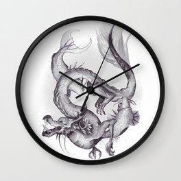CARPA DRAGONE Wall Clock